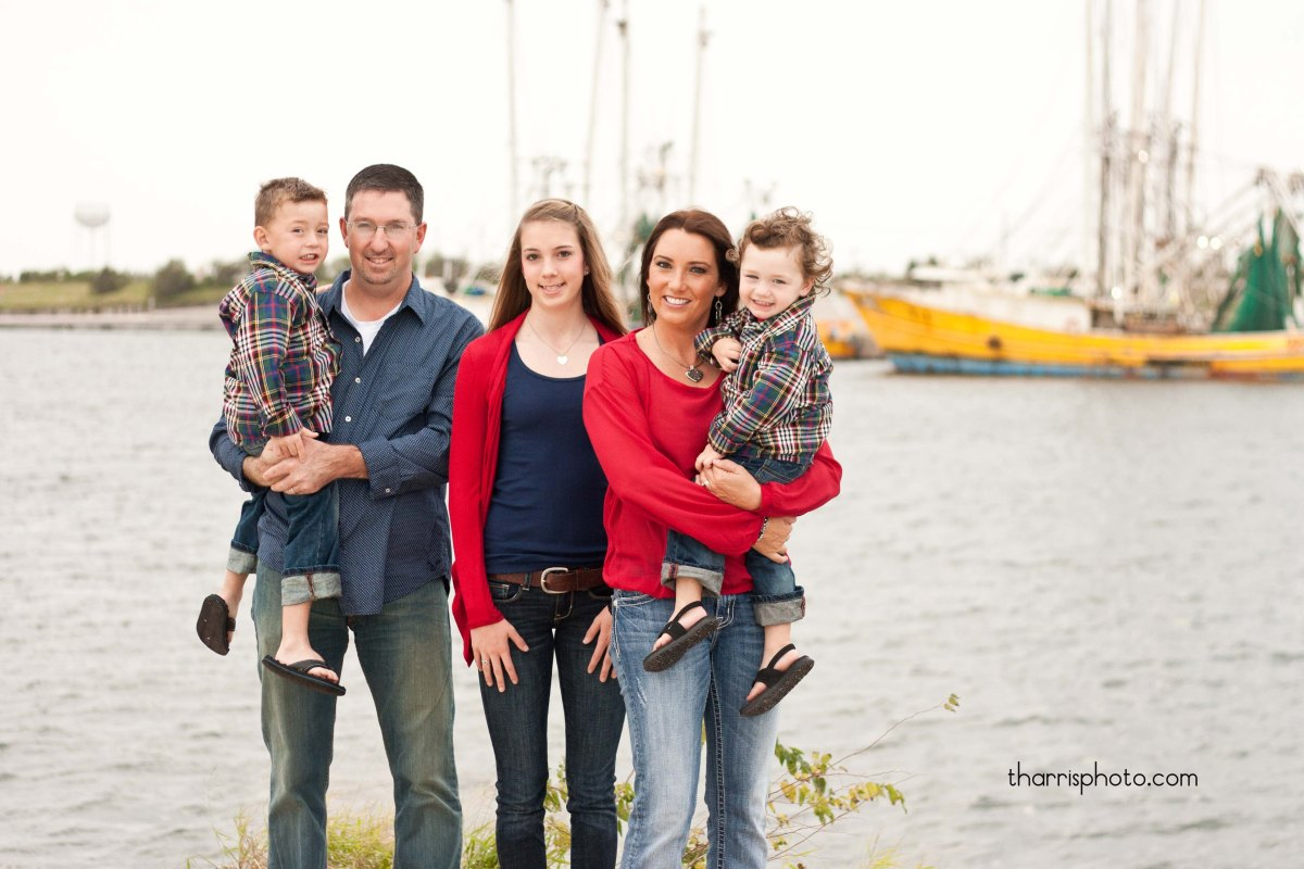"""The """"M"""" Family {Family/Child Photography~Rockport, Texas area"""